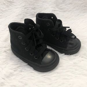 Converse All Star Black Baby Sneakers